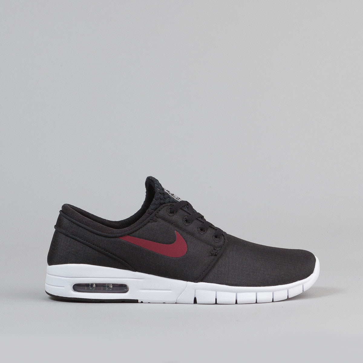 nike sb stefan janoski max shoes black team red. Black Bedroom Furniture Sets. Home Design Ideas