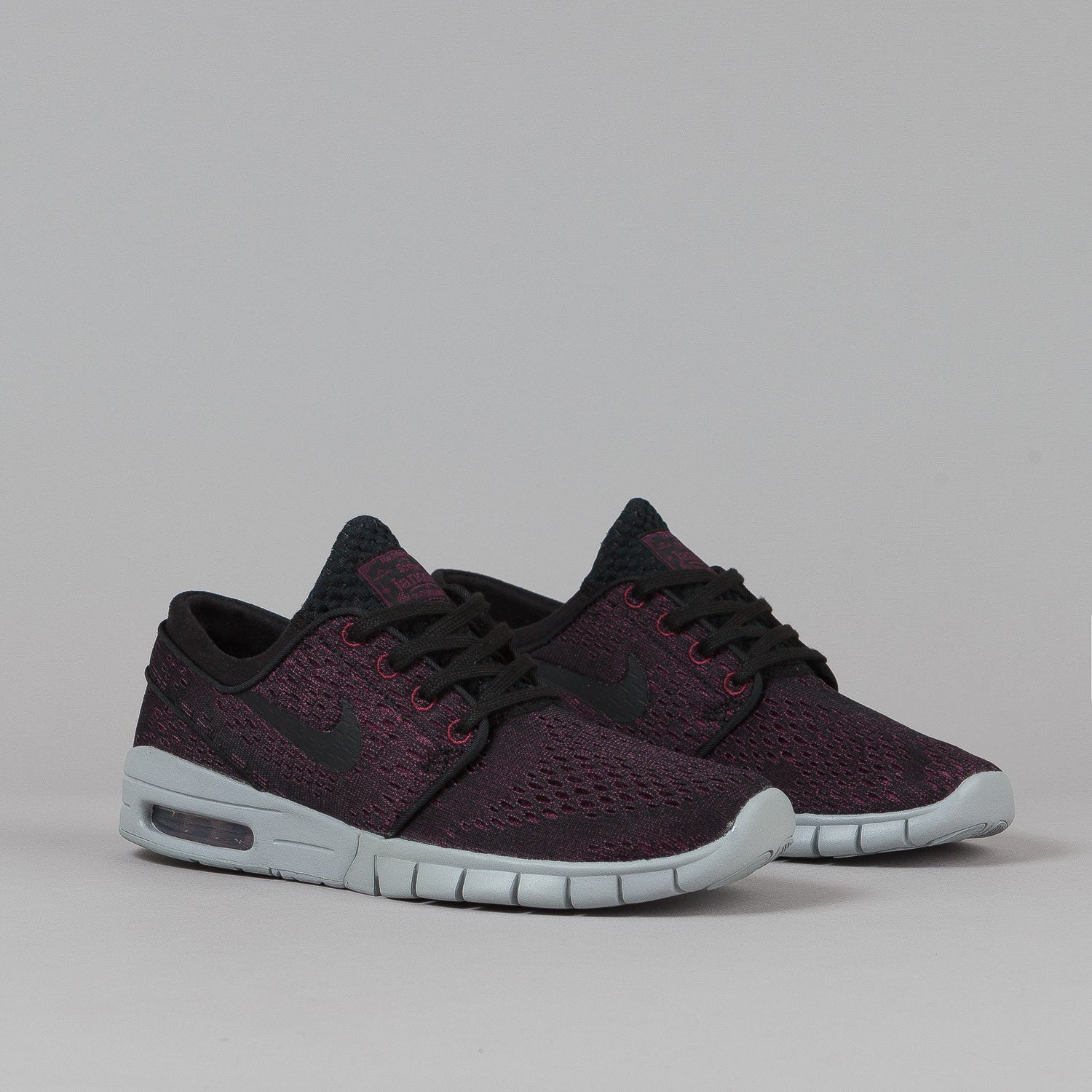 Nike SB Stefan Janoski Max Shoes Villain Red / Black - Black - Wolf Grey