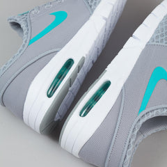 Nike SB Stefan Janoski Max Shoes - Wolf Grey / Light Retro / White