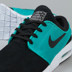 Nike SB Stefan Janoski Max Suede Shoes - Black / Lt Retro / White