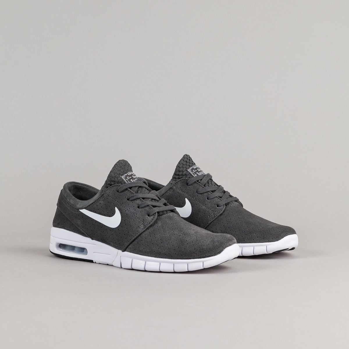 meet 00c57 05d62 ... inexpensive nike sb shoes janoski all black suede nike sb stefan  janoski max d6830 dc517 ...
