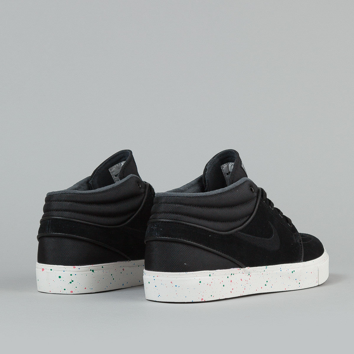 Nike SB Stefan Janoski Mid Black / Black - Photo Blue - Ivory