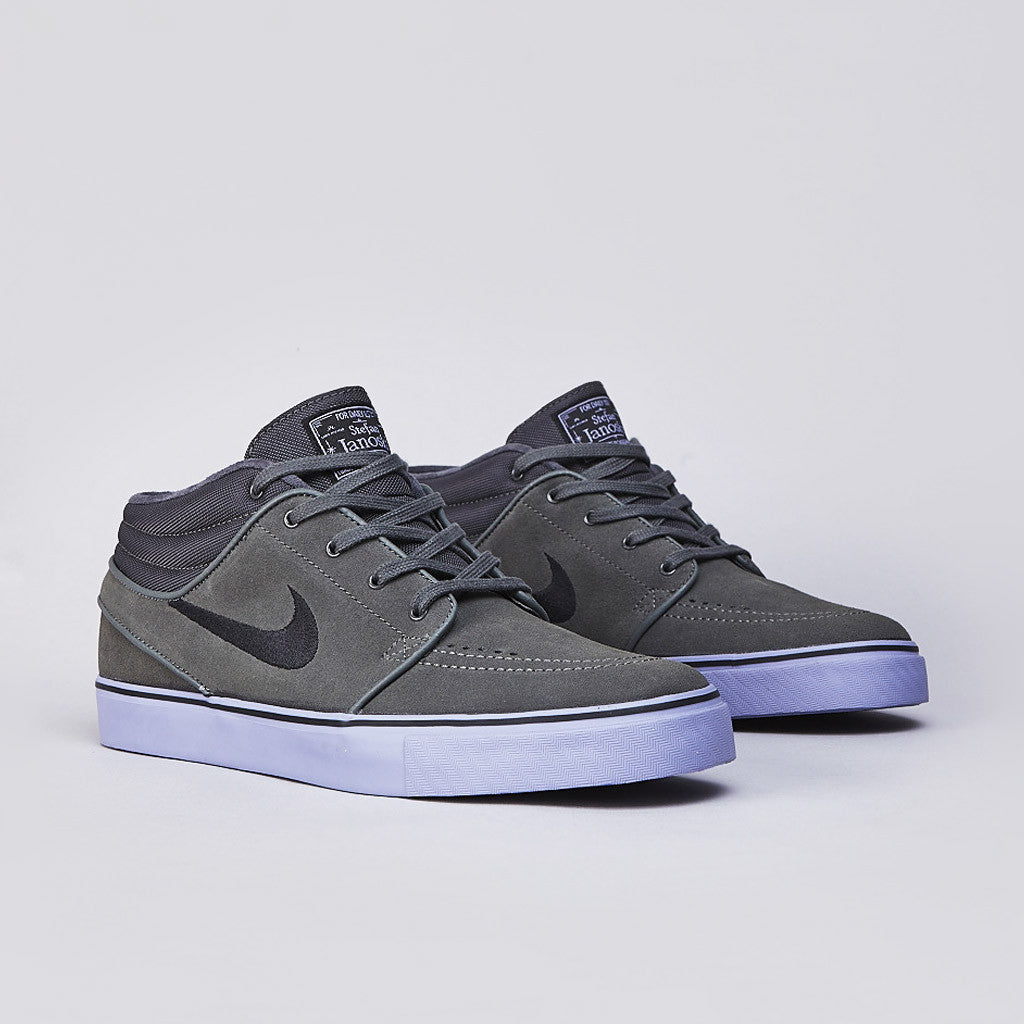 Nike SB Stefan Janoski Mid Dark Base Grey / Black - Purple