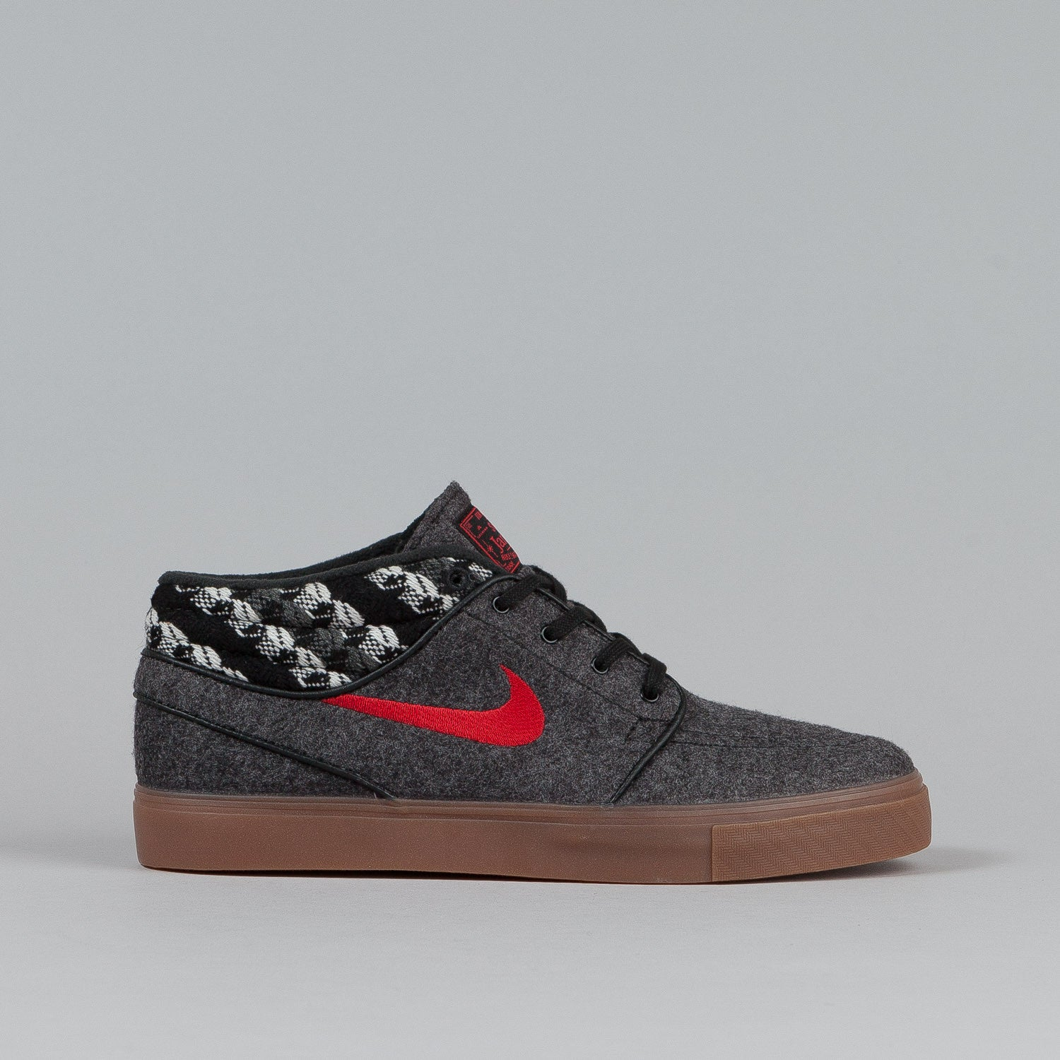 Nike SB Stefan Janoski Mid Shoes Black / Gym Red