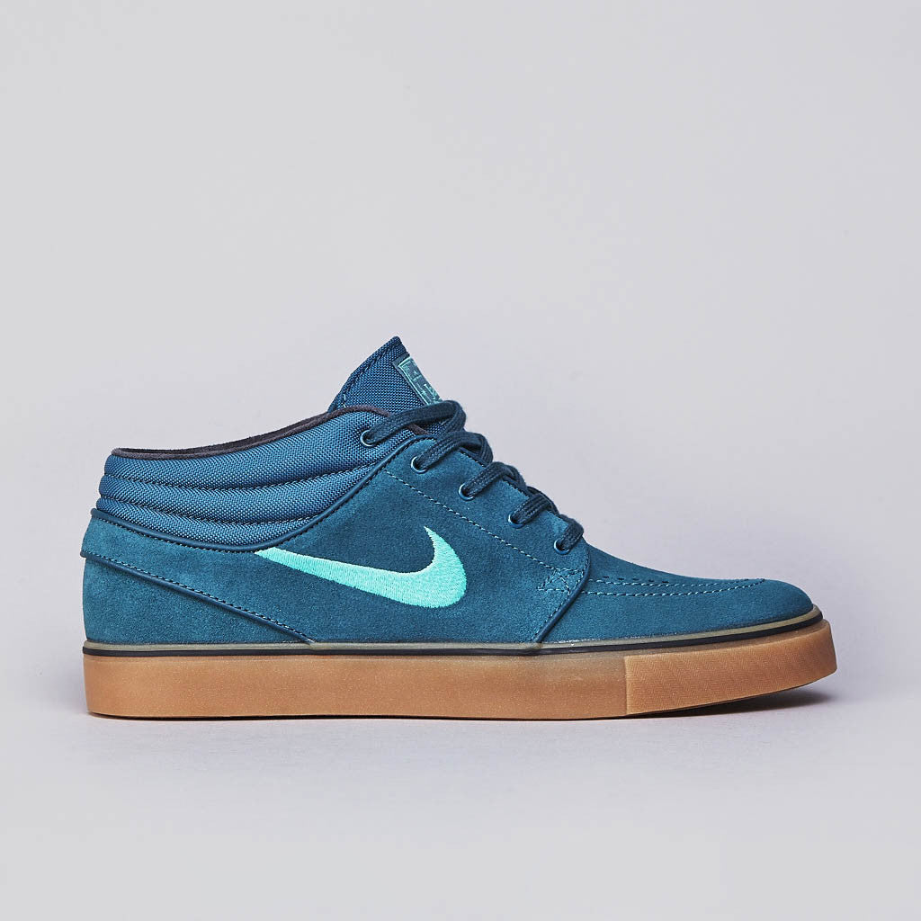 Nike SB Stefan Janoski Mid Night Factor / Crystal mint - Light Crimson