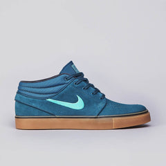 Nike SB Stefan Janoski Mid Night Factor / Crystal mint