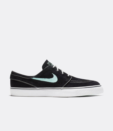 Nike SB Stefan Janoski OG Shoes - Black / Mint - White