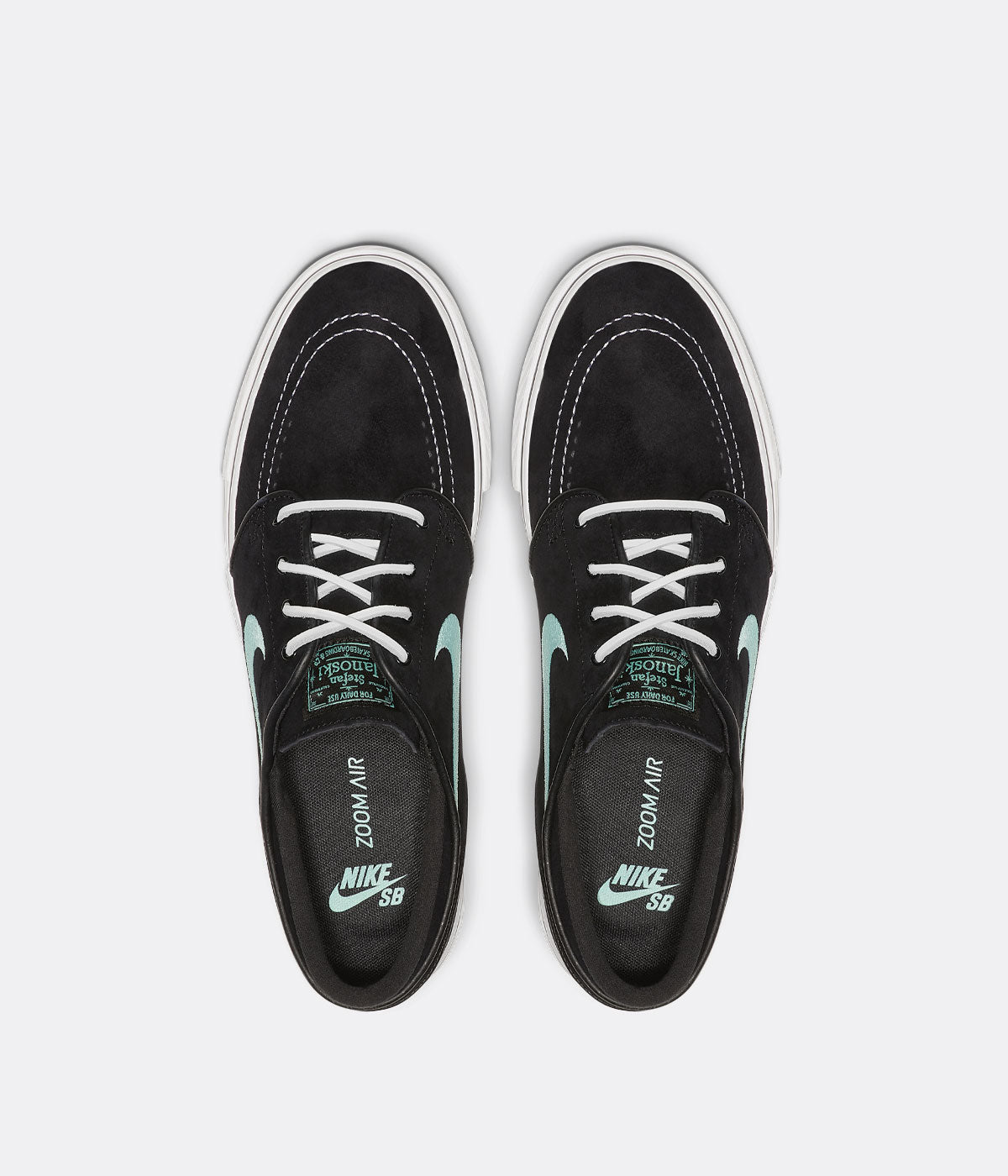 hot sale online a4cf6 c1f9f Nike SB Stefan Janoski OG Shoes - Black / Mint - White ...