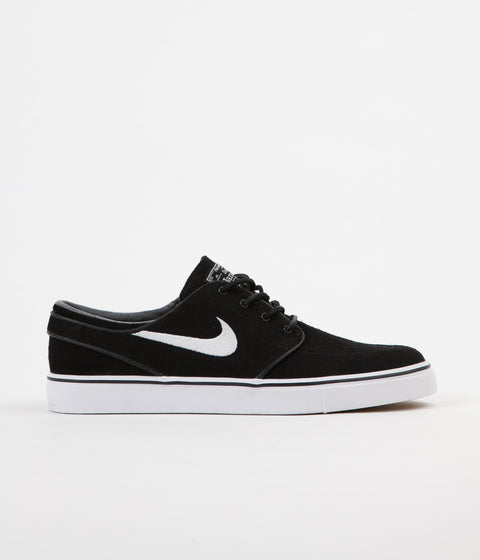 Nike SB Stefan Janoski OG Shoes - Black / White - Gum Light Brown