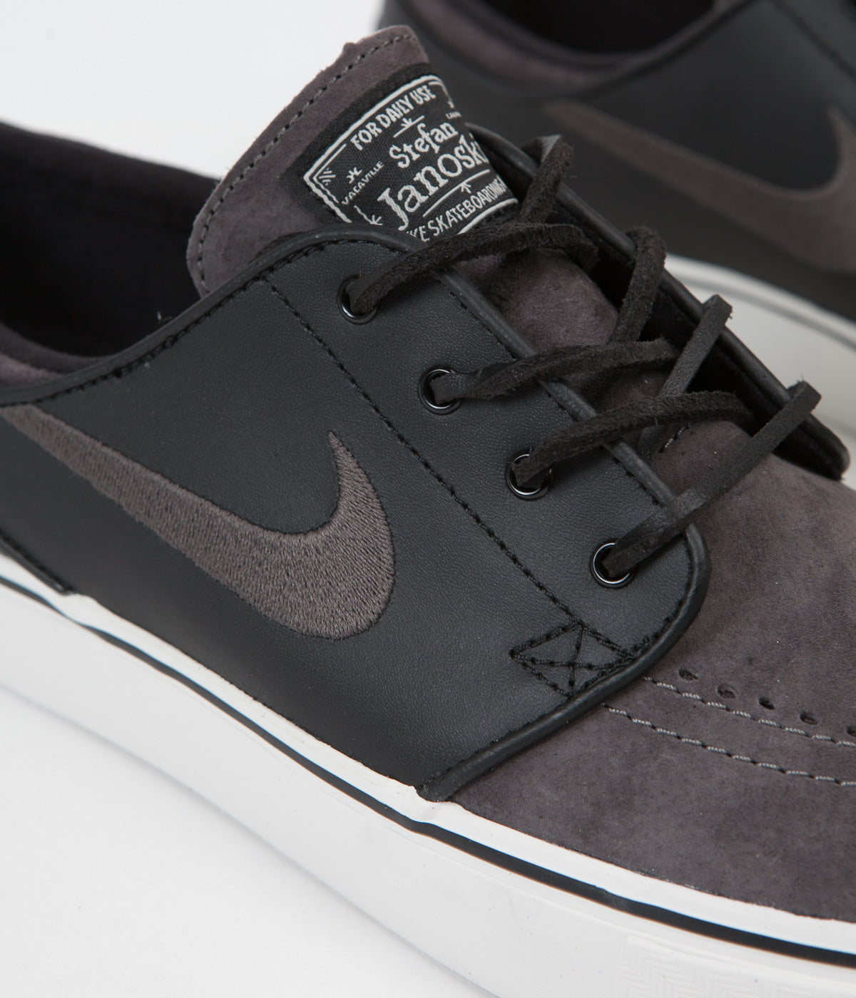 classic fit c148a f019f ... shopping nike sb stefan janoski og shoes midnight fog black a327f 24ff3