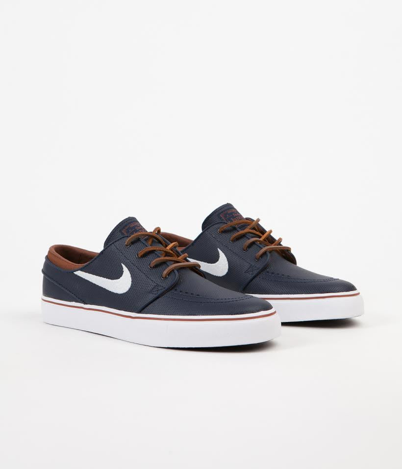 official photos 48558 9b013 ... Nike SB Stefan Janoski OG Shoes - Obsidian   White - Rustic - White ...