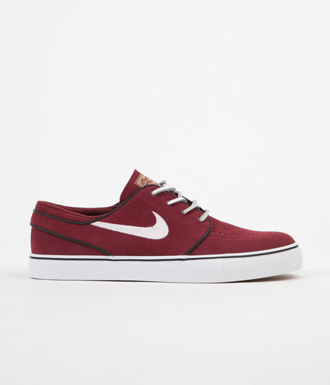 Nike SB Stefan Janoski OG Shoes - Red Earth / White - Black - Gum Medium Brown