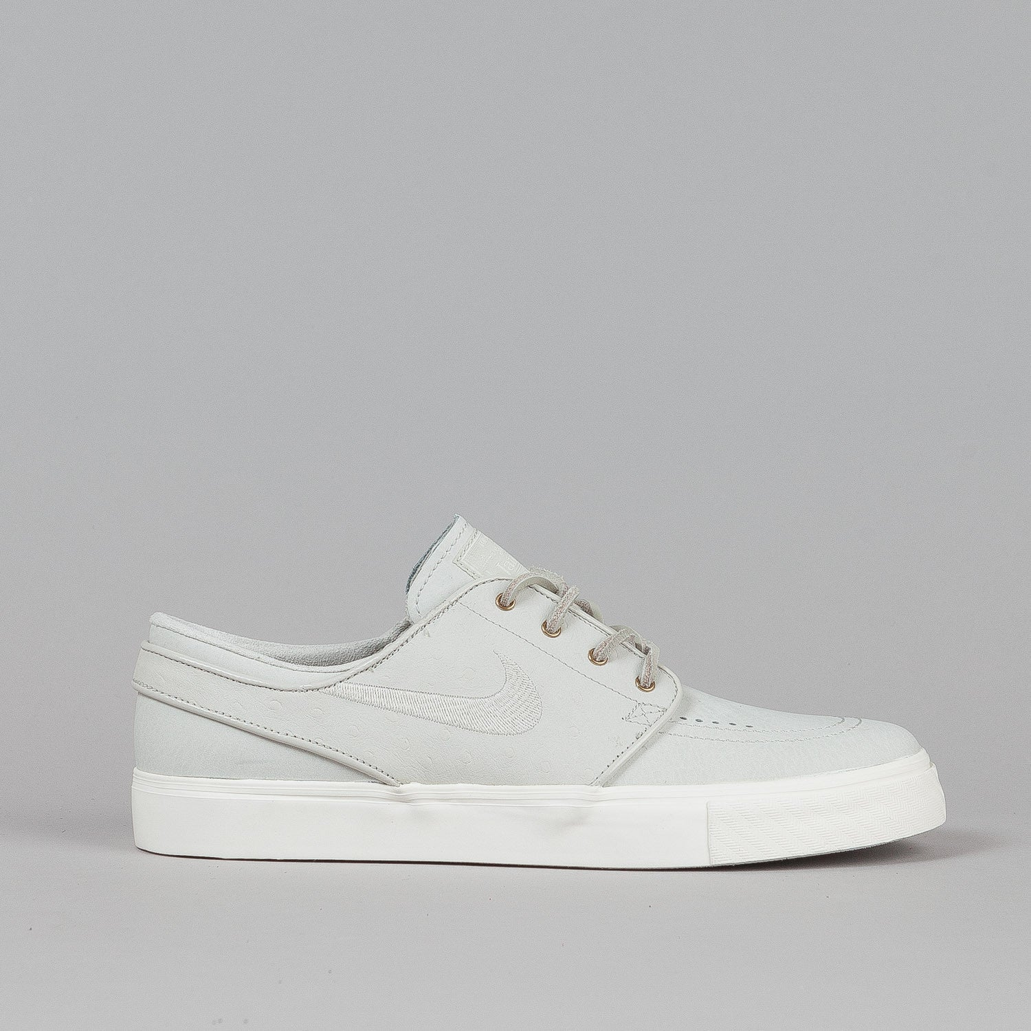 Nike SB Stefan Janoski PREM Shoes Light Bone / Light Bone - Sail