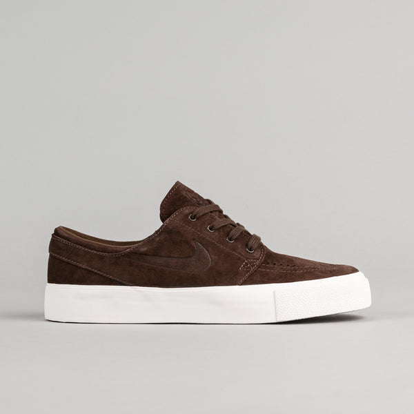 Nike SB Stefan Janoski Premium HT Shoes - Baroque Brown / Baroque Brown - Ivory