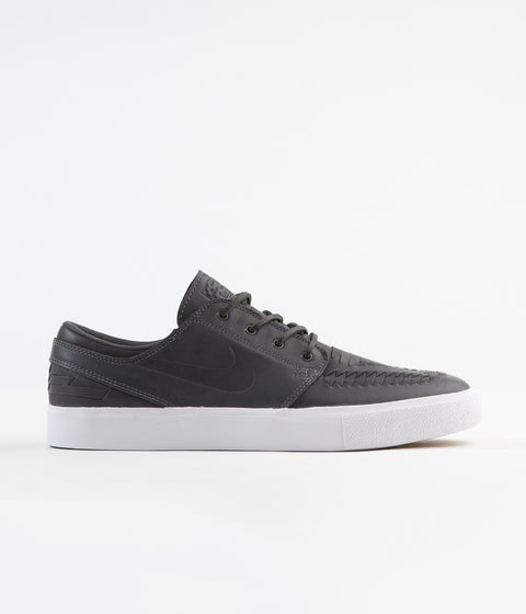 Nike SB Stefan Janoski Remastered Crafted Shoes - Anthracite / Anthracite - Anthracite - White