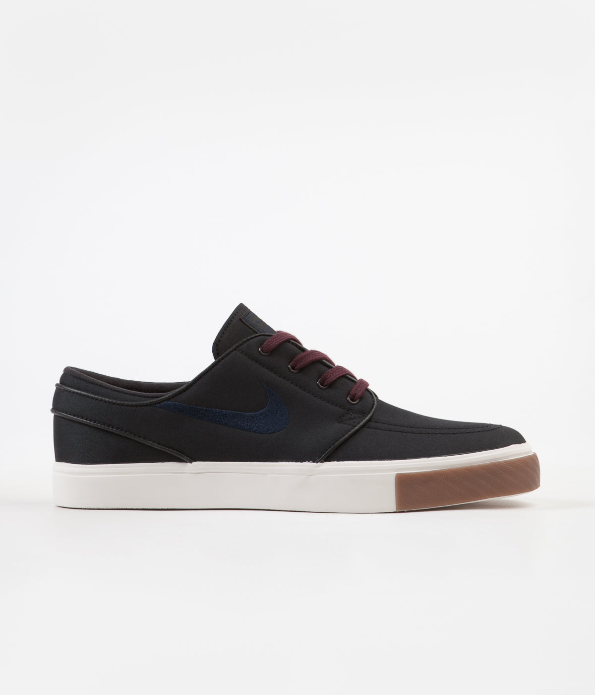 newest 82359 03742 Nike SB Stefan Janoski Shoes - Black   Obsidian - Burgundy Crush