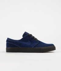 Nike SB Stefan Janoski Shoes - Blue Void / Blue Void - Black