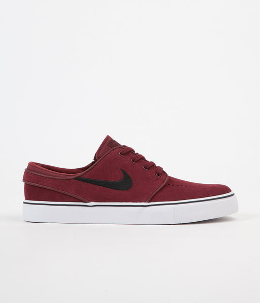 Nike SB Stefan Janoski Shoes - Dark Team Red / Black
