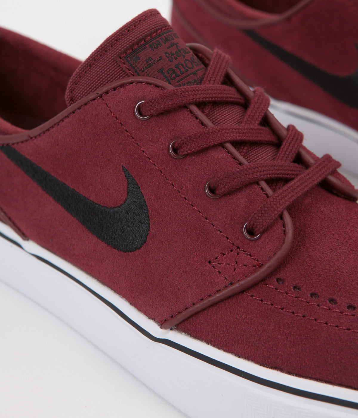 cdf9bd53cc63 ... Nike SB Stefan Janoski Shoes - Dark Team Red   Black ...