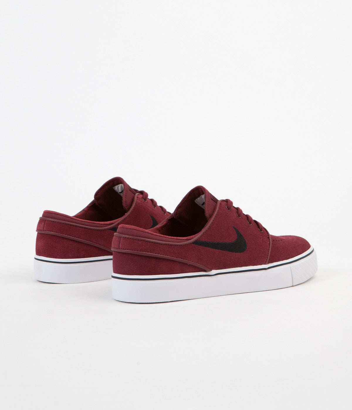 entrada Cuervo hélice  Nike SB Stefan Janoski Shoes - Dark Team Red / Black | Flatspot