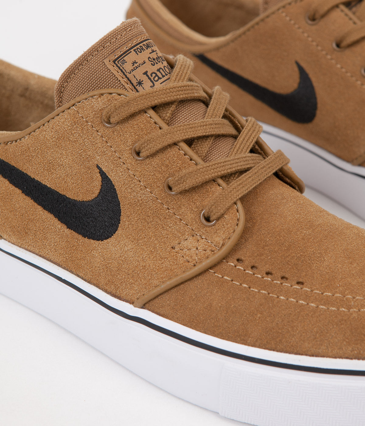 Nike SB Stefan Janoski Shoes - Golden Beige / Black