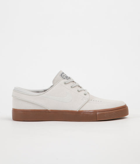 Nike SB Stefan Janoski Shoes - Light Bone / Light Bone - Thunder Blue