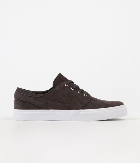 Nike SB Stefan Janoski Shoes - Velvet Brown / Velvet Brown - White