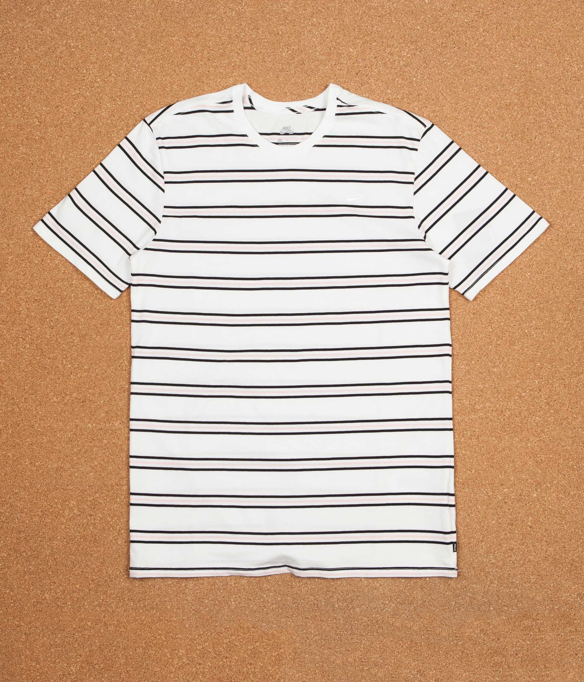 db831bc6a7f1 Nike SB Summer Stripe T-Shirt - White   White