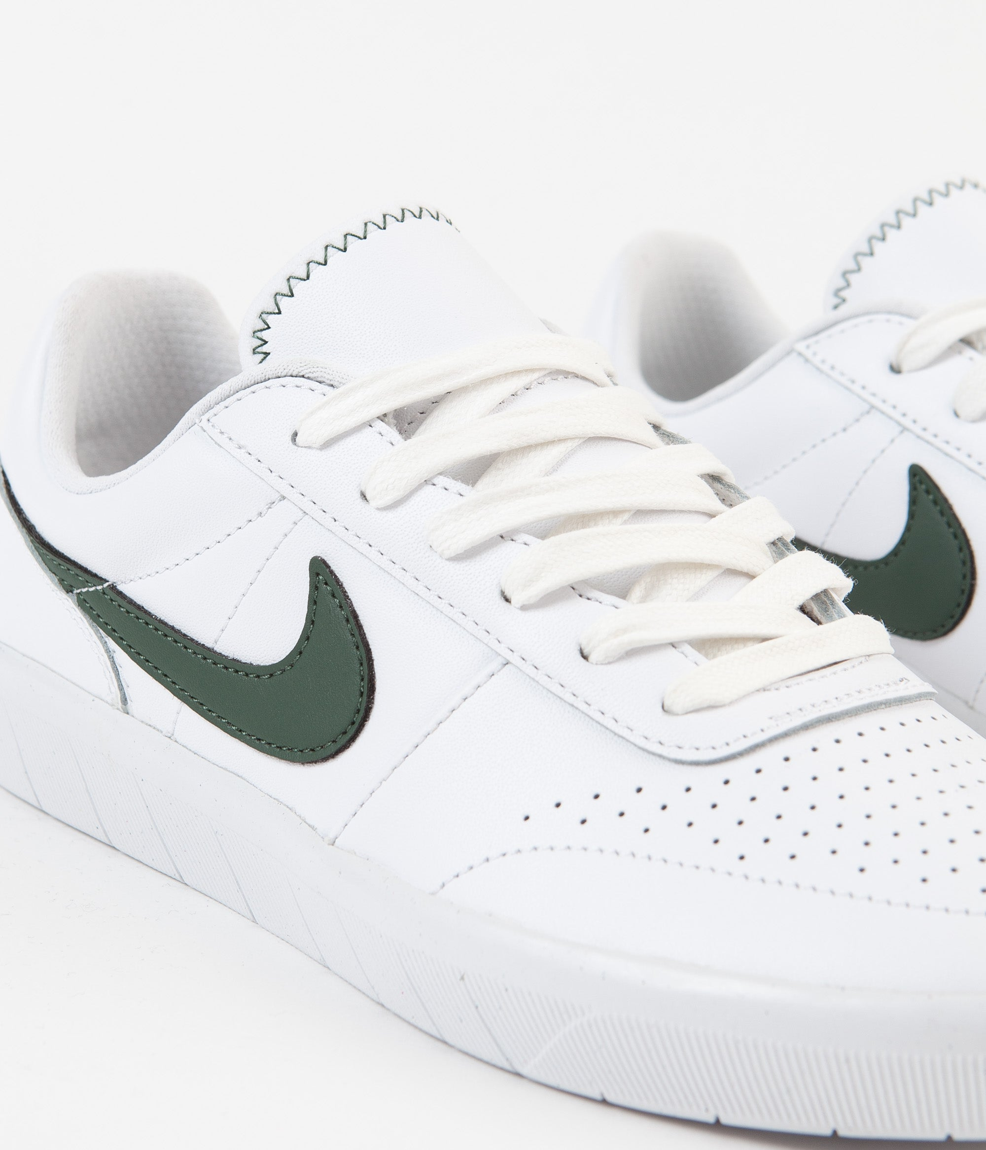 a few days away speical offer sale usa online Nike SB Team Classic Premium Shoes - White / Galactic Jade ...