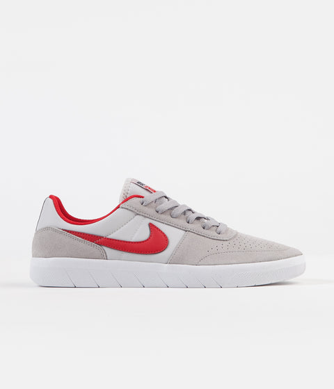 Nike SB Team Classic Shoes - Atmosphere Grey / University Red - Vast Grey