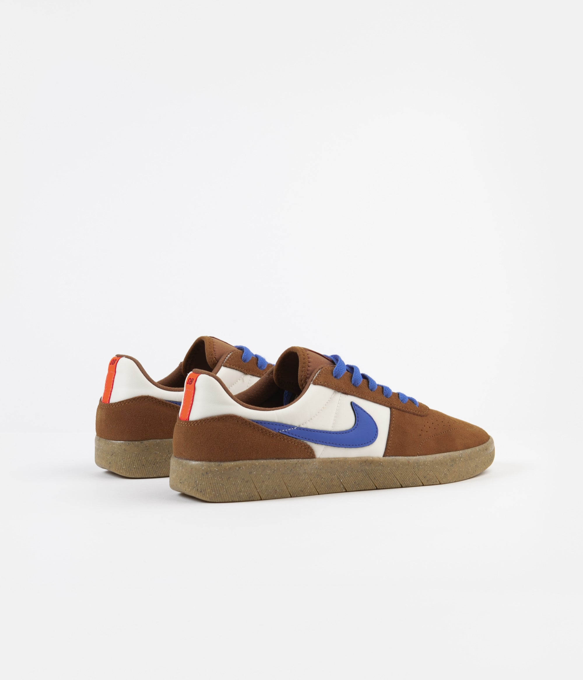 Nike SB Team Classic Shoes - Light British Tan / Pacific Blue - Pale Ivory