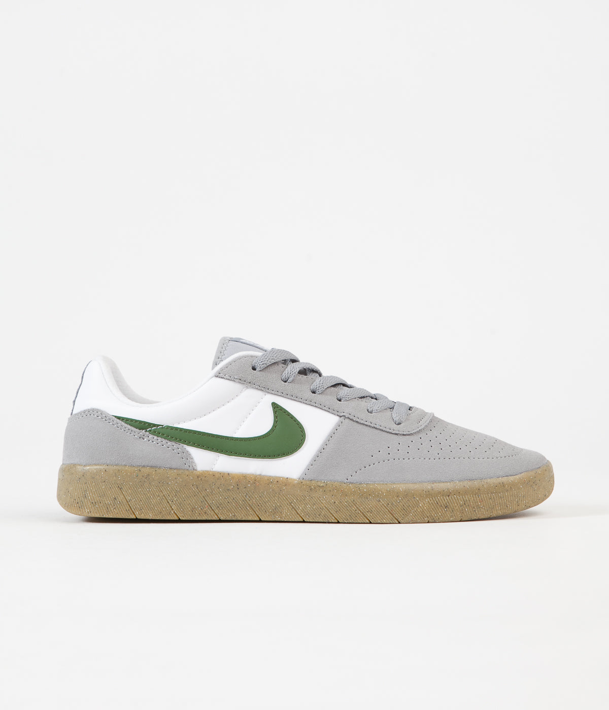 Nike SB Team Classic Shoes - Particle Grey / Forest Green ...