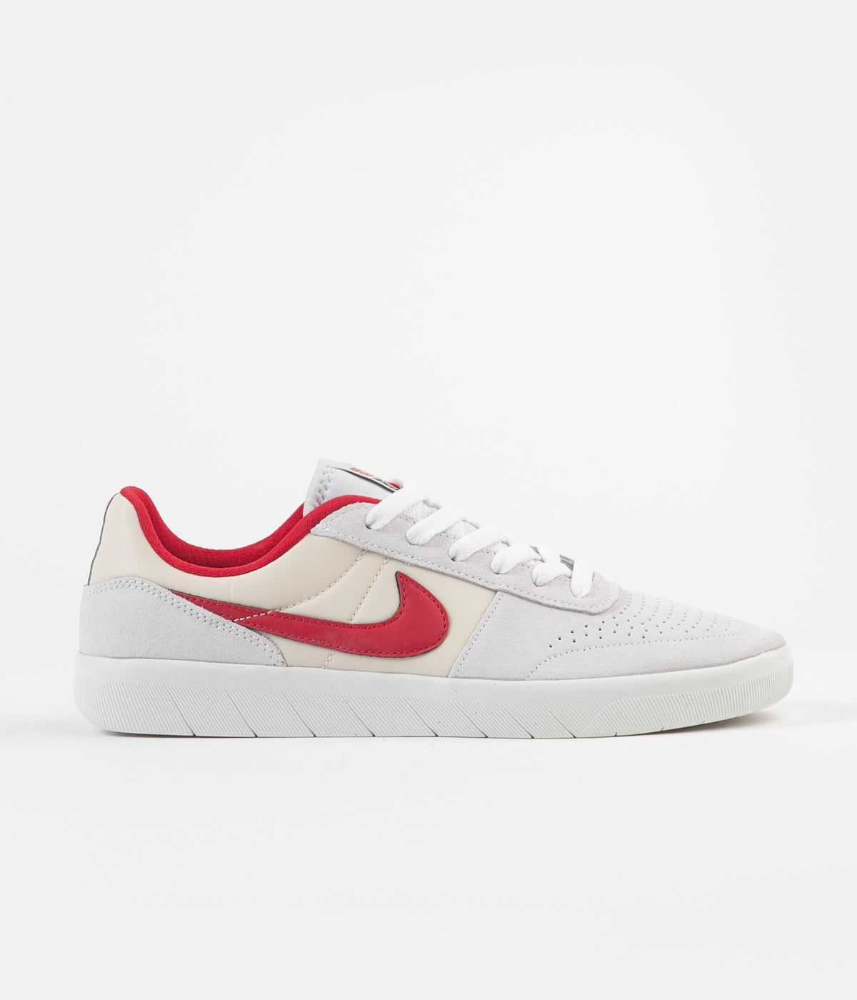 Nike SB Team Classic Shoes - Photon Dust / University Red - Light Cream