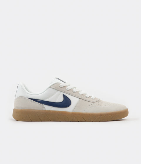 Nike SB Team Classic Shoes - Summit White / Blue Void - White
