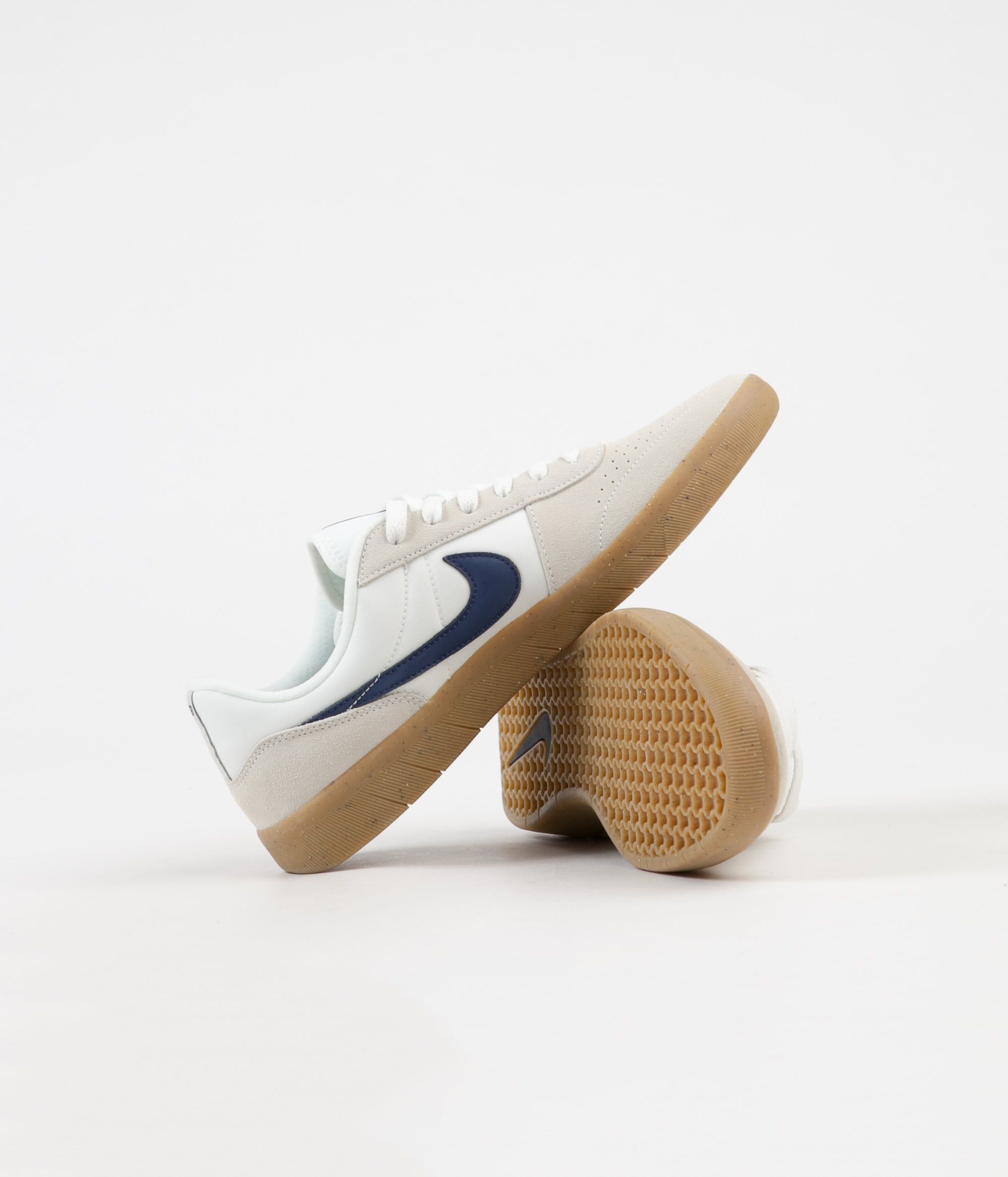 5864b5971ee ... Nike SB Team Classic Shoes - Summit White   Blue Void - White ...