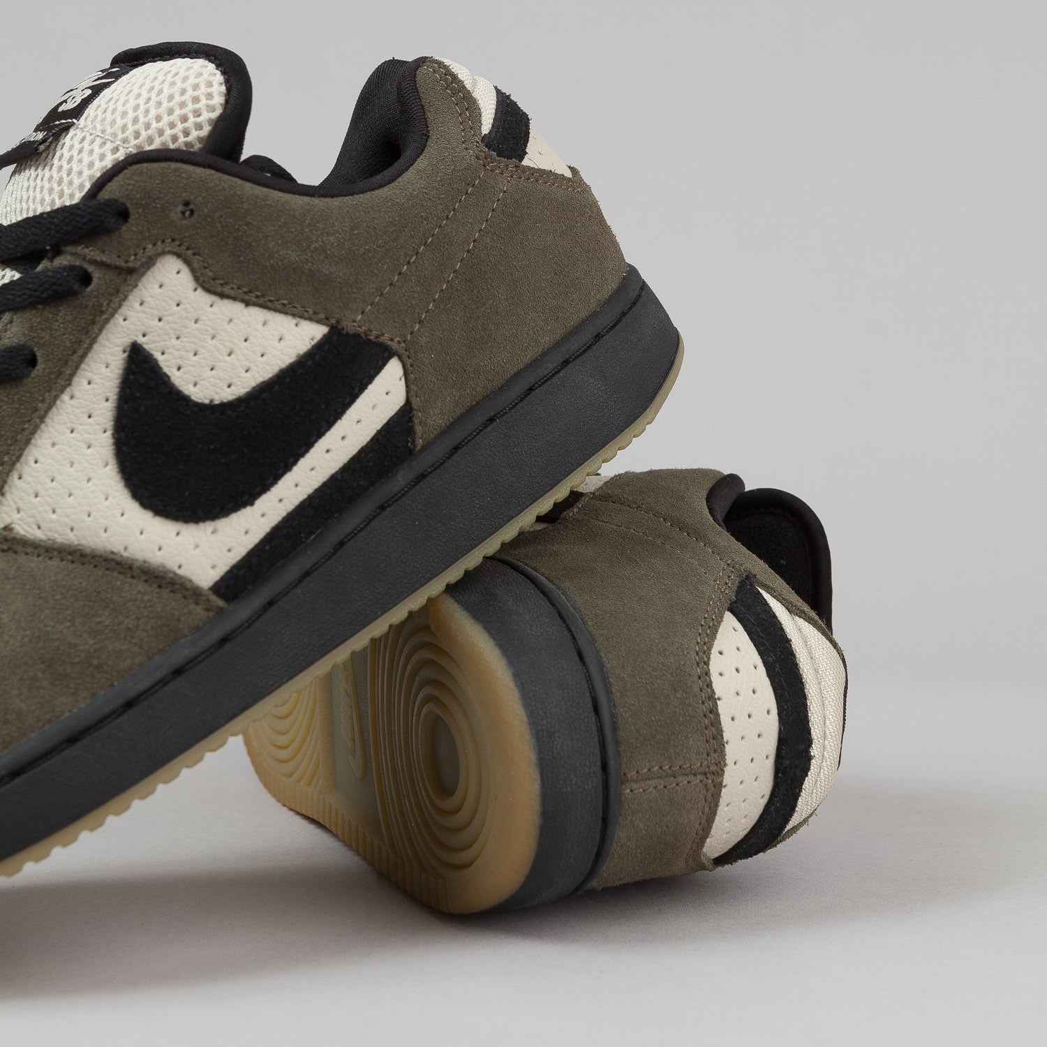 Nike SB Team Edition Shoes - Birch / Black / Asparagus