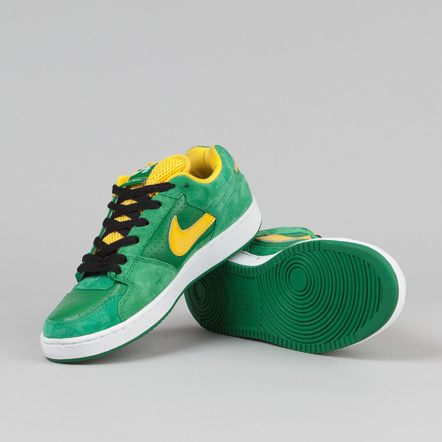 Nike SB Team Edition Shoes - Classic Green / Varsity Maize