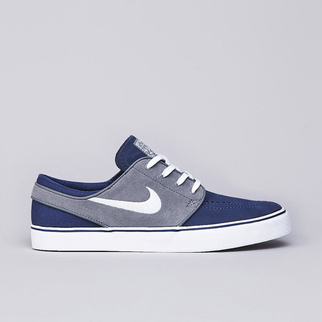 Nike SB Stefan Janoski Midnight Navy / White - Cool Grey