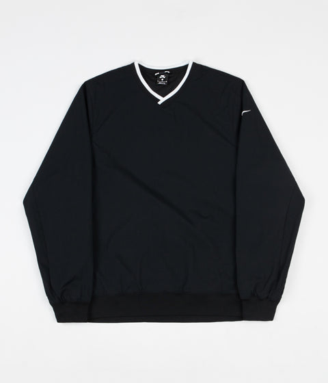 Nike SB Top Wind Sweatshirt - Black / White / White