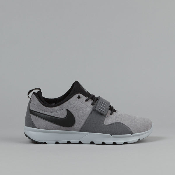 Nike SB Trainerendor L Shoes - Cool Grey / Black - Dark Grey - Wolf Gr | Flatspot