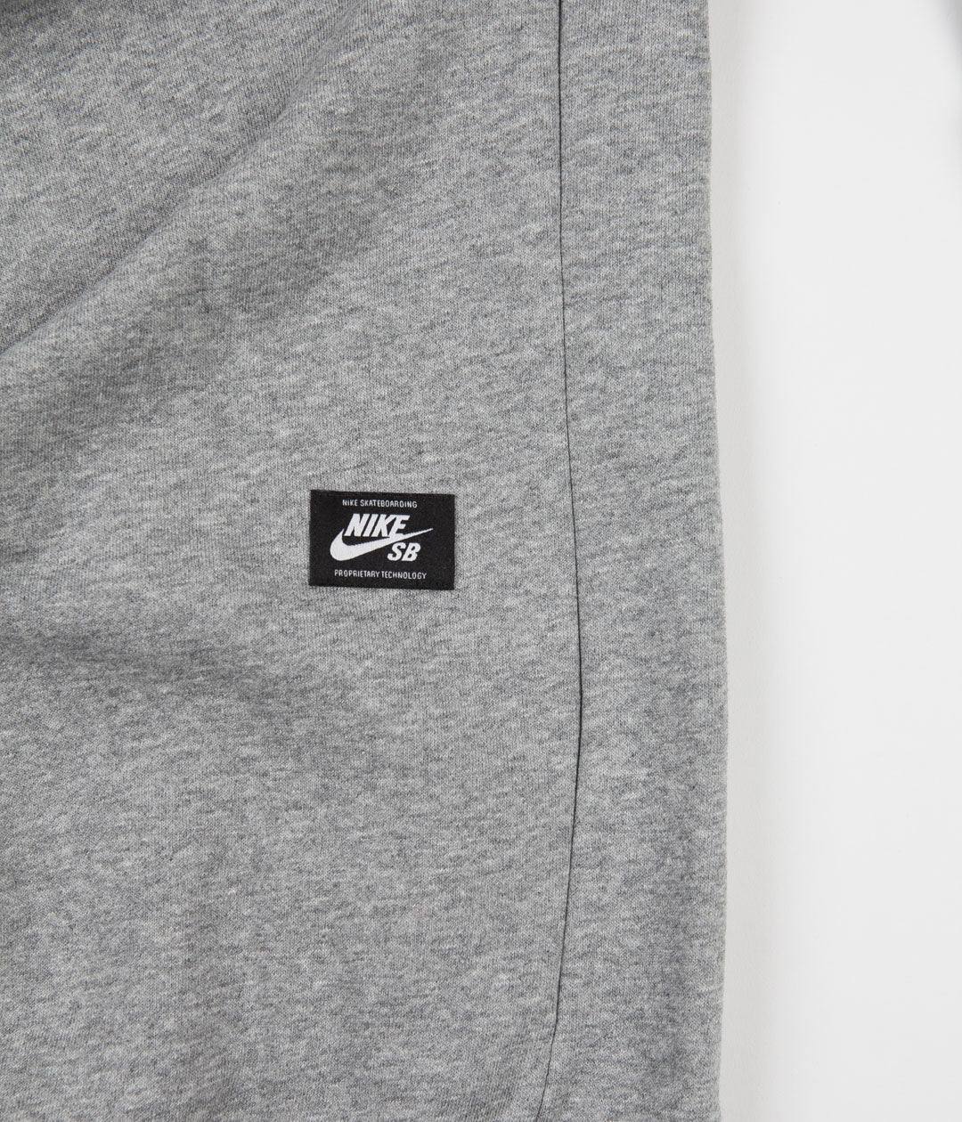 Nike SB Truck Fleece Hoodie - Dark Grey Heather / Laser Blue
