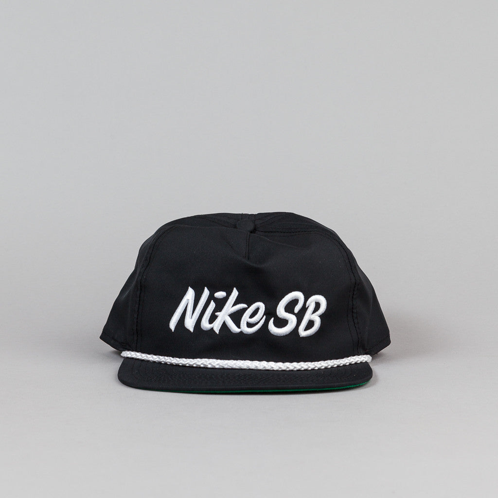 Nike SB Unstructured Dri-Fit Pro Cap - Black / Pine Green / Black / White