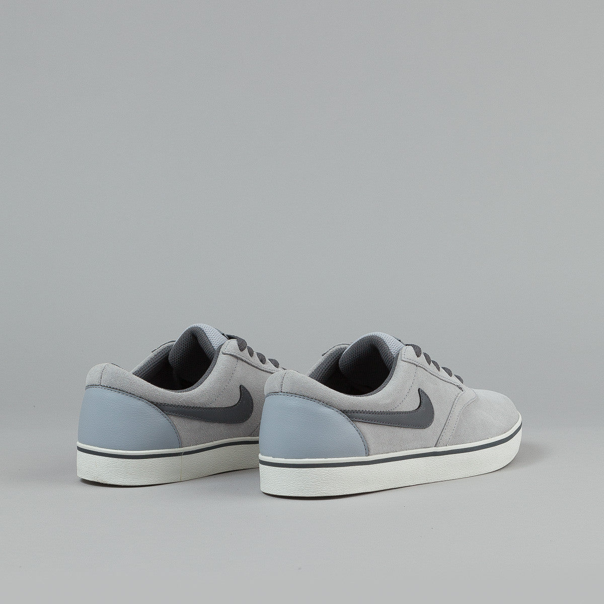 Nike SB Vulc Rod Shoes - Wolf Grey / Dark Grey - Sail