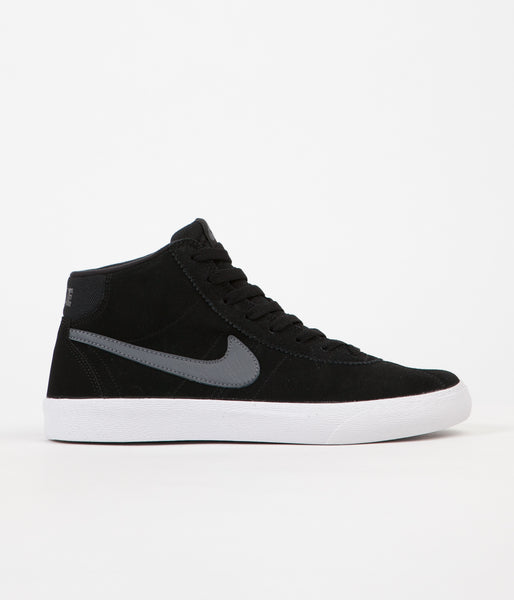 Nike SB Womens Bruin Hi Shoes - Black / Dark Grey - White