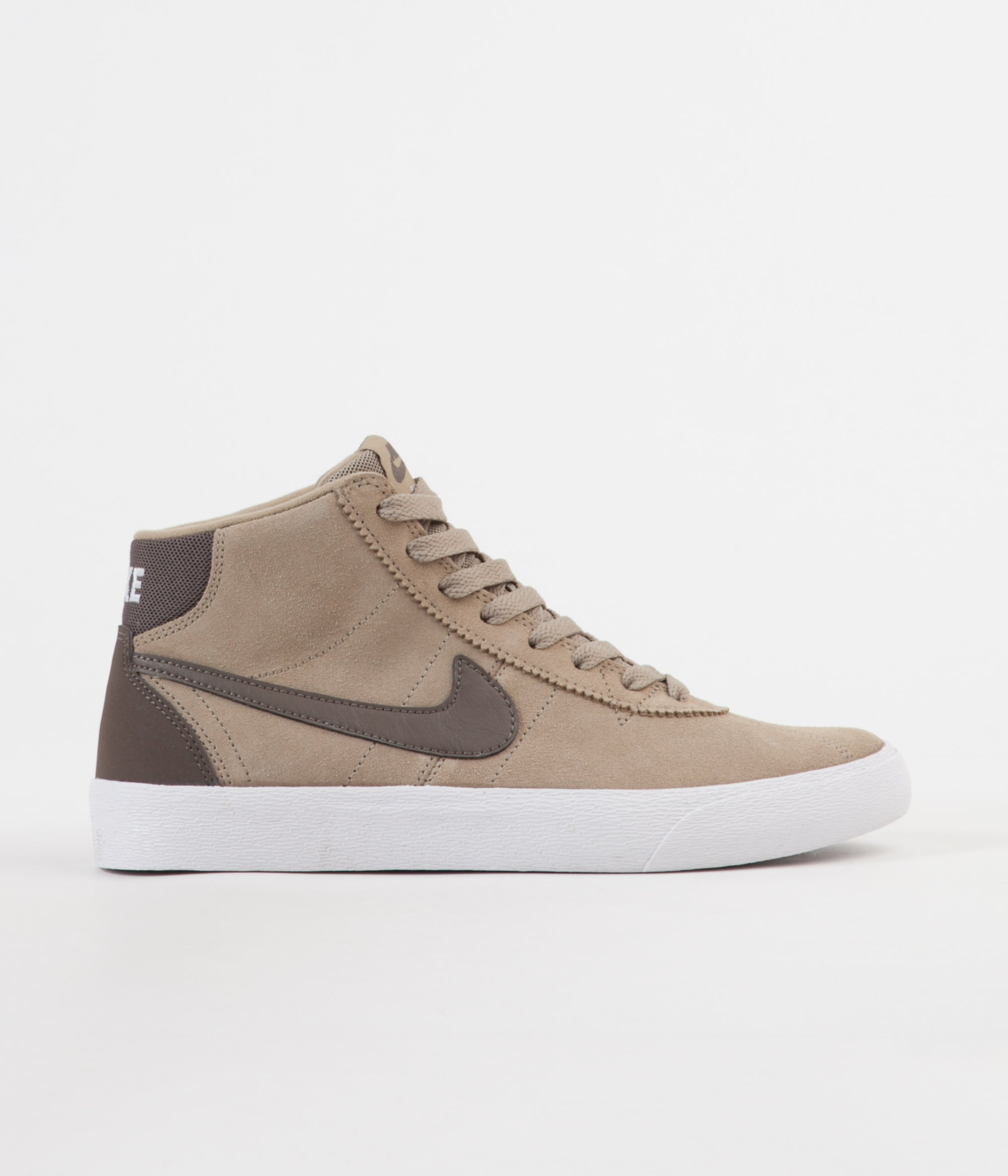 e67e99f89c66 Nike SB Women s Bruin Hi Shoes - Khaki   Ridgerock - White