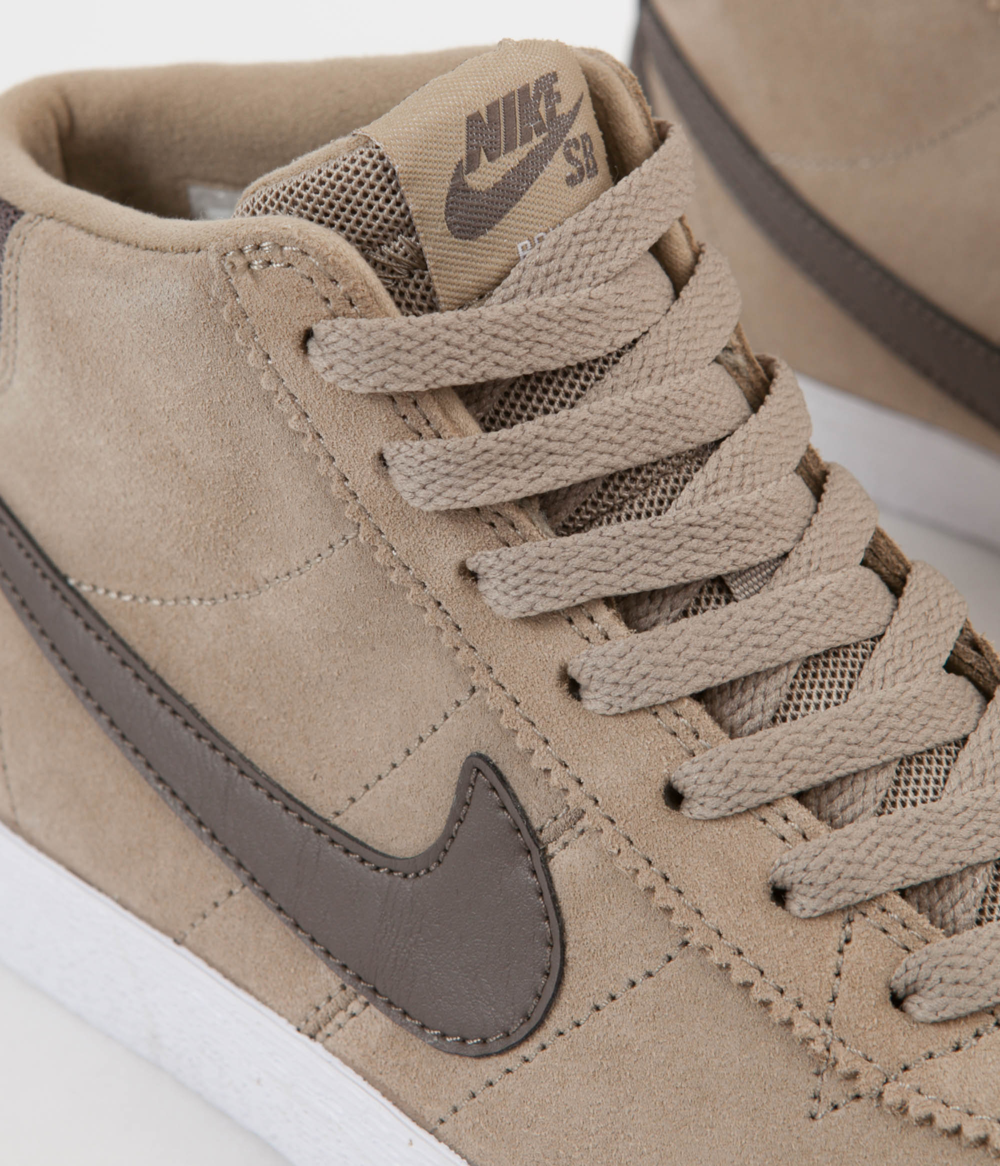 ... Nike SB Women s Bruin Hi Shoes - Khaki   Ridgerock - White ... e3167d8350
