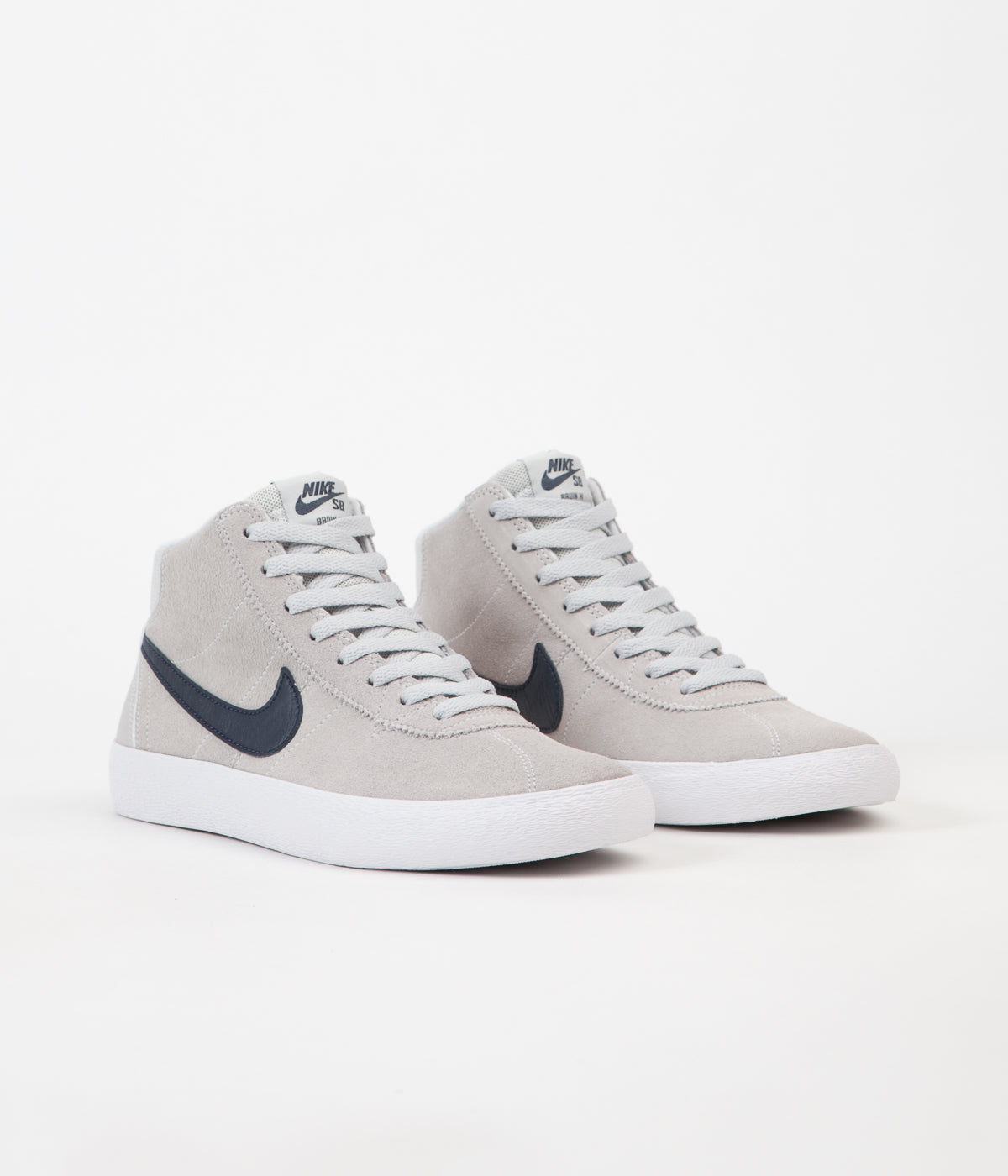 ... Nike SB Womens Bruin Hi Shoes - Pure Platinum   Obsidian - White ... fe5bb6e1c1
