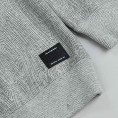 Nike Sb Woodgrain Crew Sweatshirt Dark Heather Grey / Allover