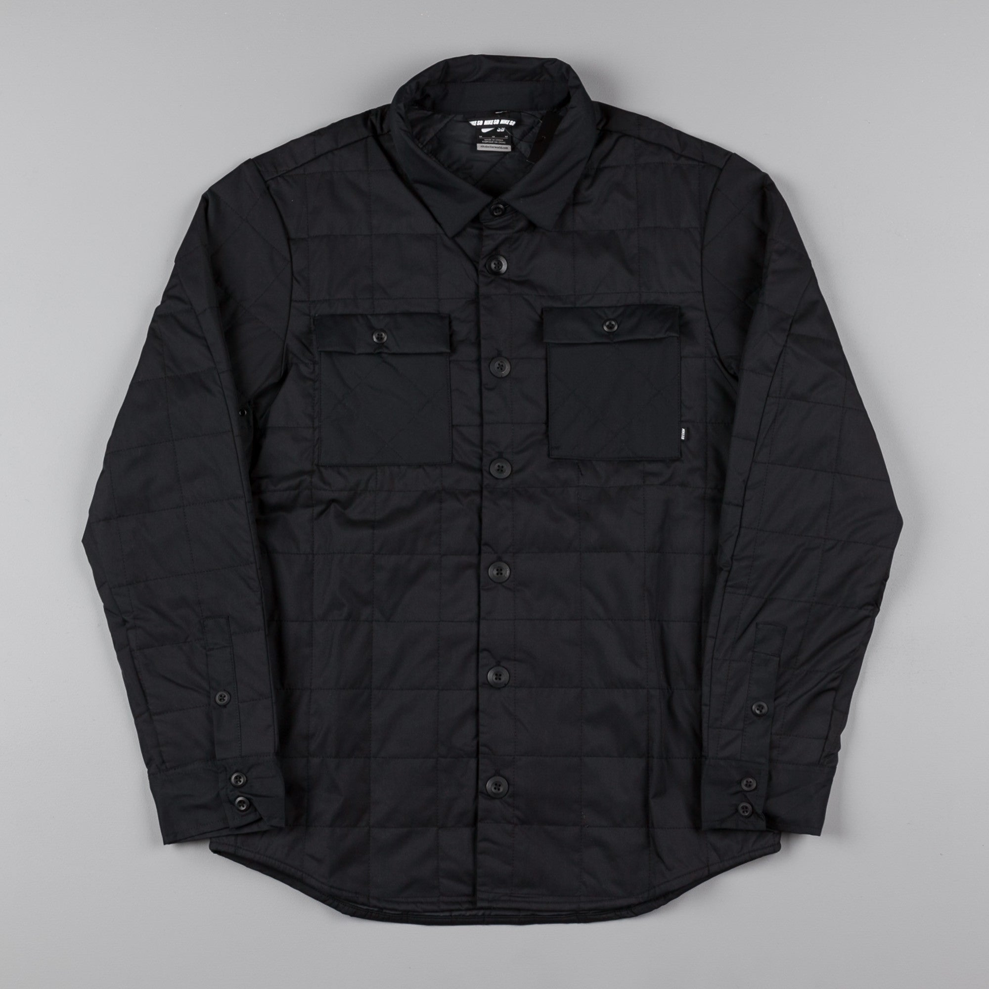 Nike SB Holgate Winterized Shirt - Black