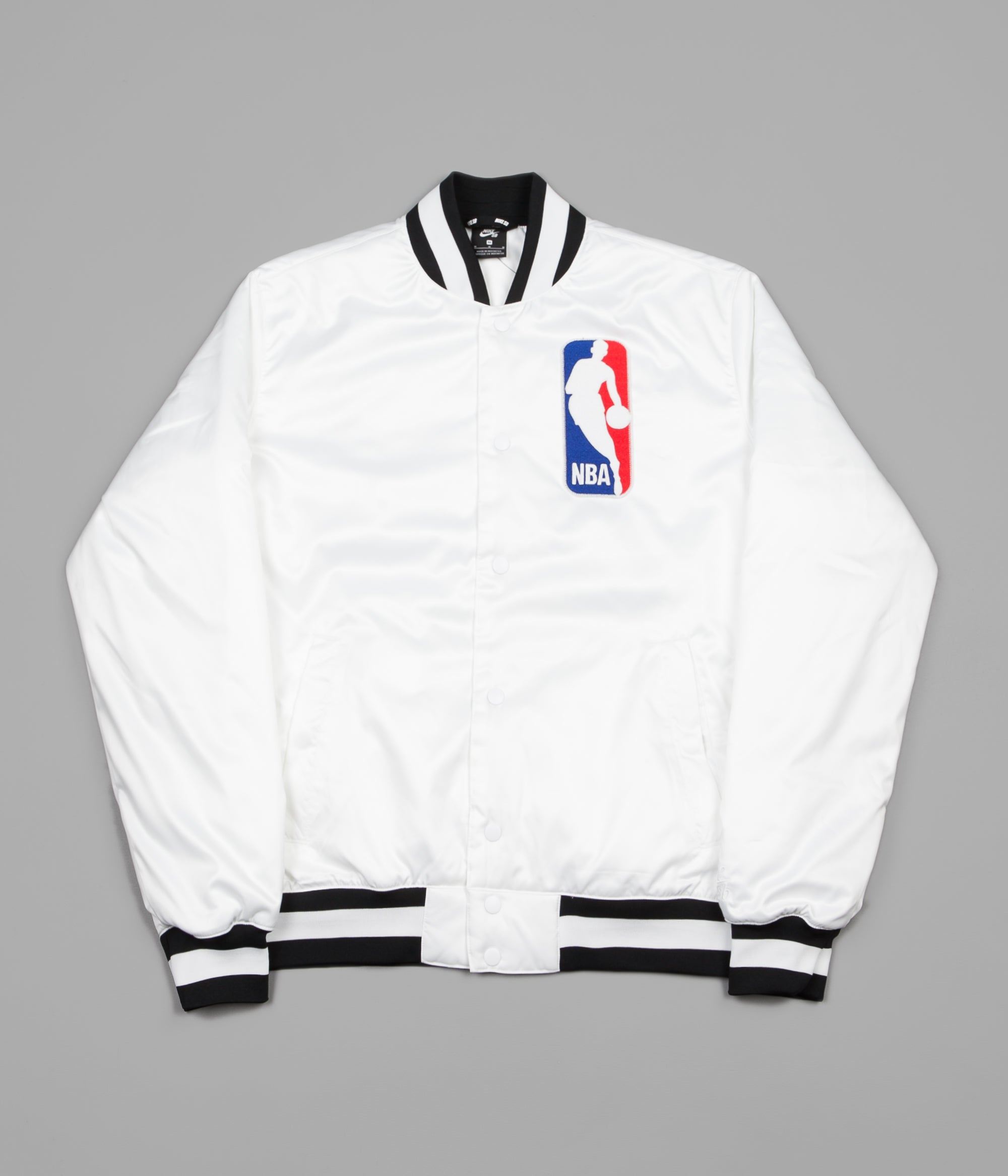 buy online 91c17 80171 Nike SB x NBA Bomber Jacket - White